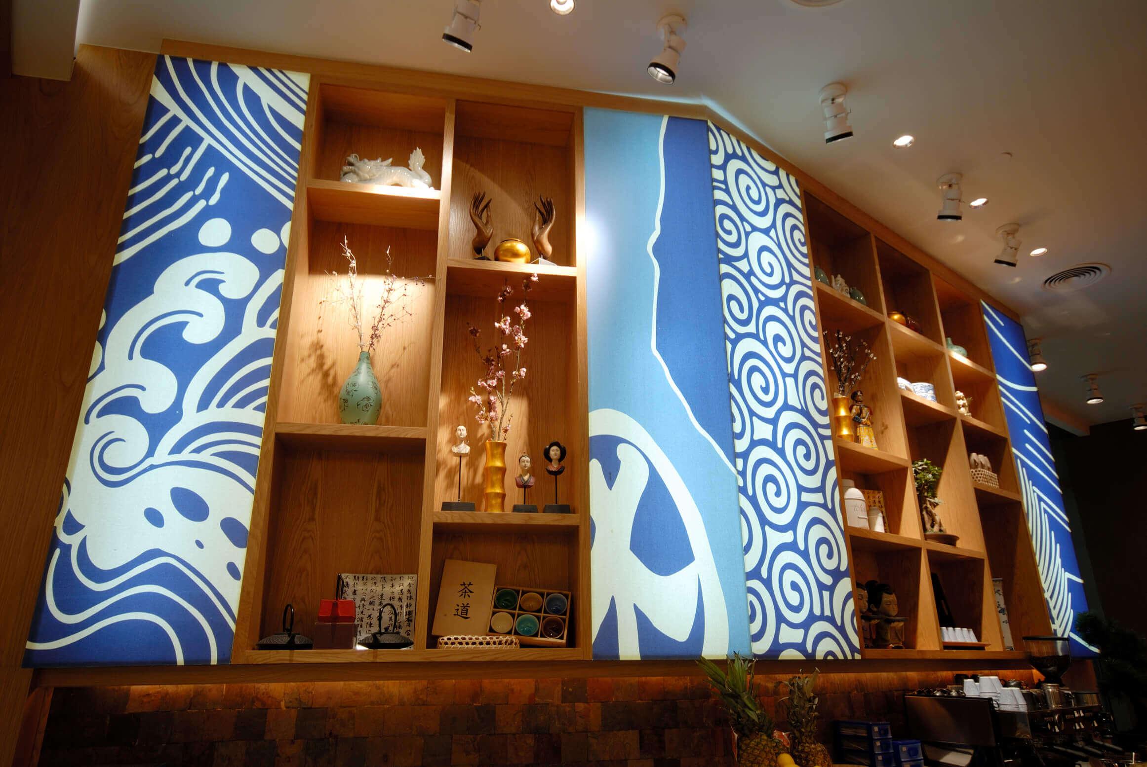 Casual Asian Restaurant and Sushi Bar Interiors - Interior Sense