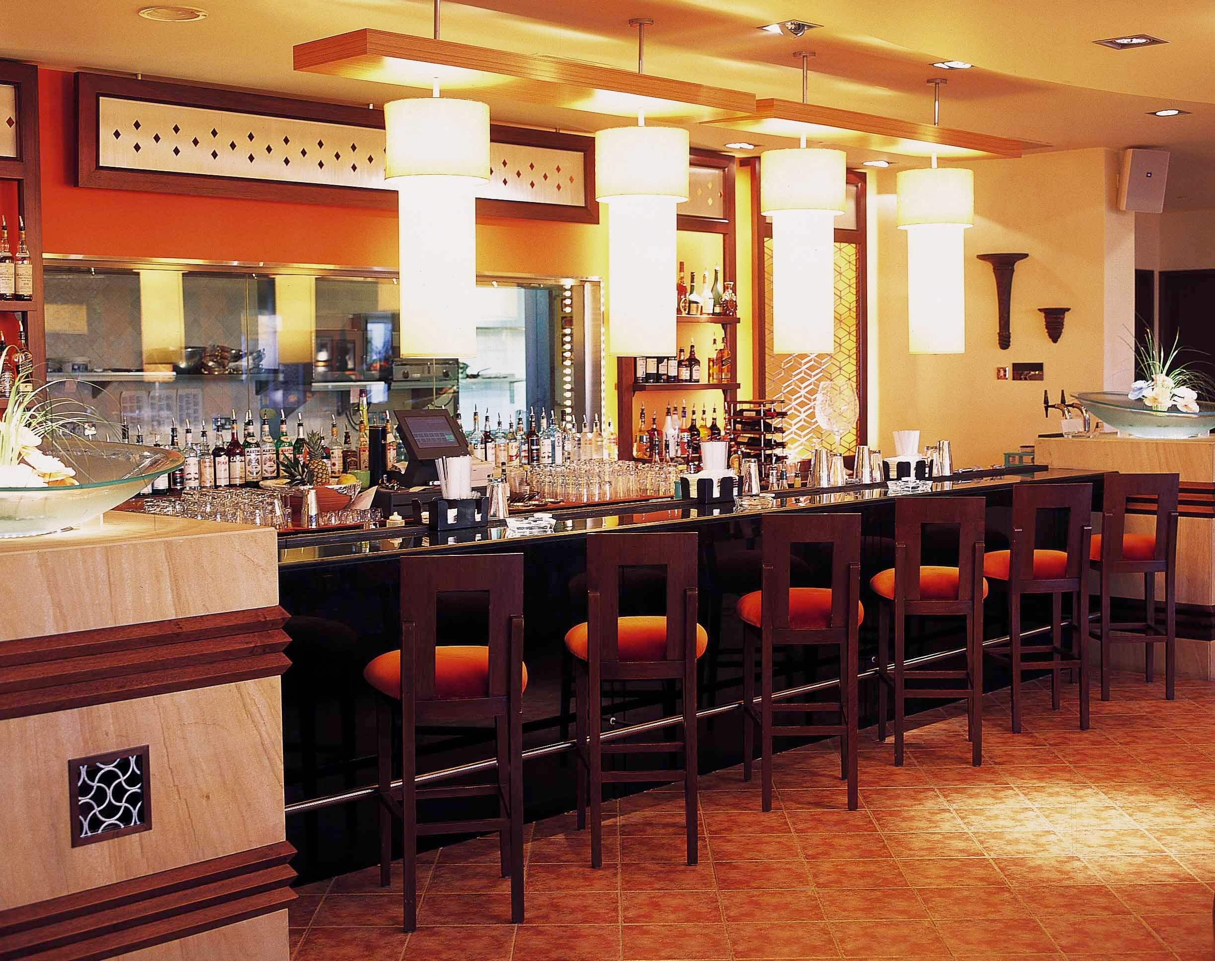 Modern Indian Bar And Restaurant Chain Commercial Interior